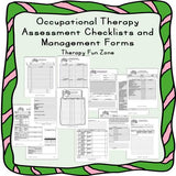 Occupational Therapy Assessment and Management Forms