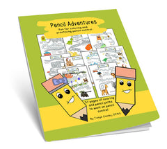 Pencil Adventures Coloring Book