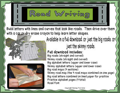 Road Writing Complete Digital Download