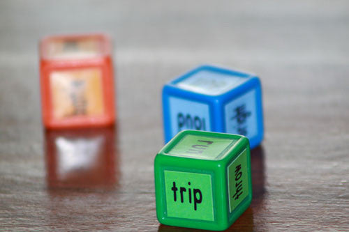 Roll a Sentence Dice Game Physical Product