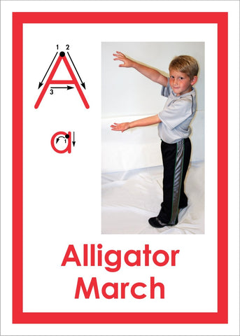 The ABC's of Movement Activity Cards