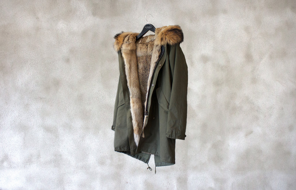Manhattan long Parka