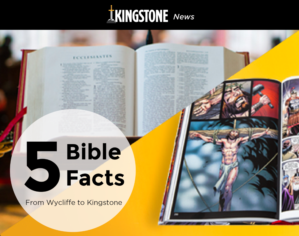5 Bible Facts, From King James to Kingstone