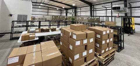 Kingstone Comics' New Warehouse