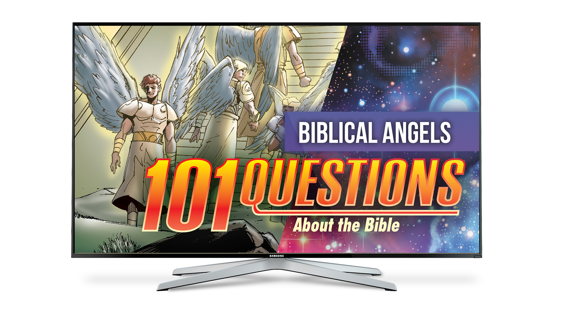 101 Questions: #14 What Does the Bible Say About Angels? - Kingstone Comics