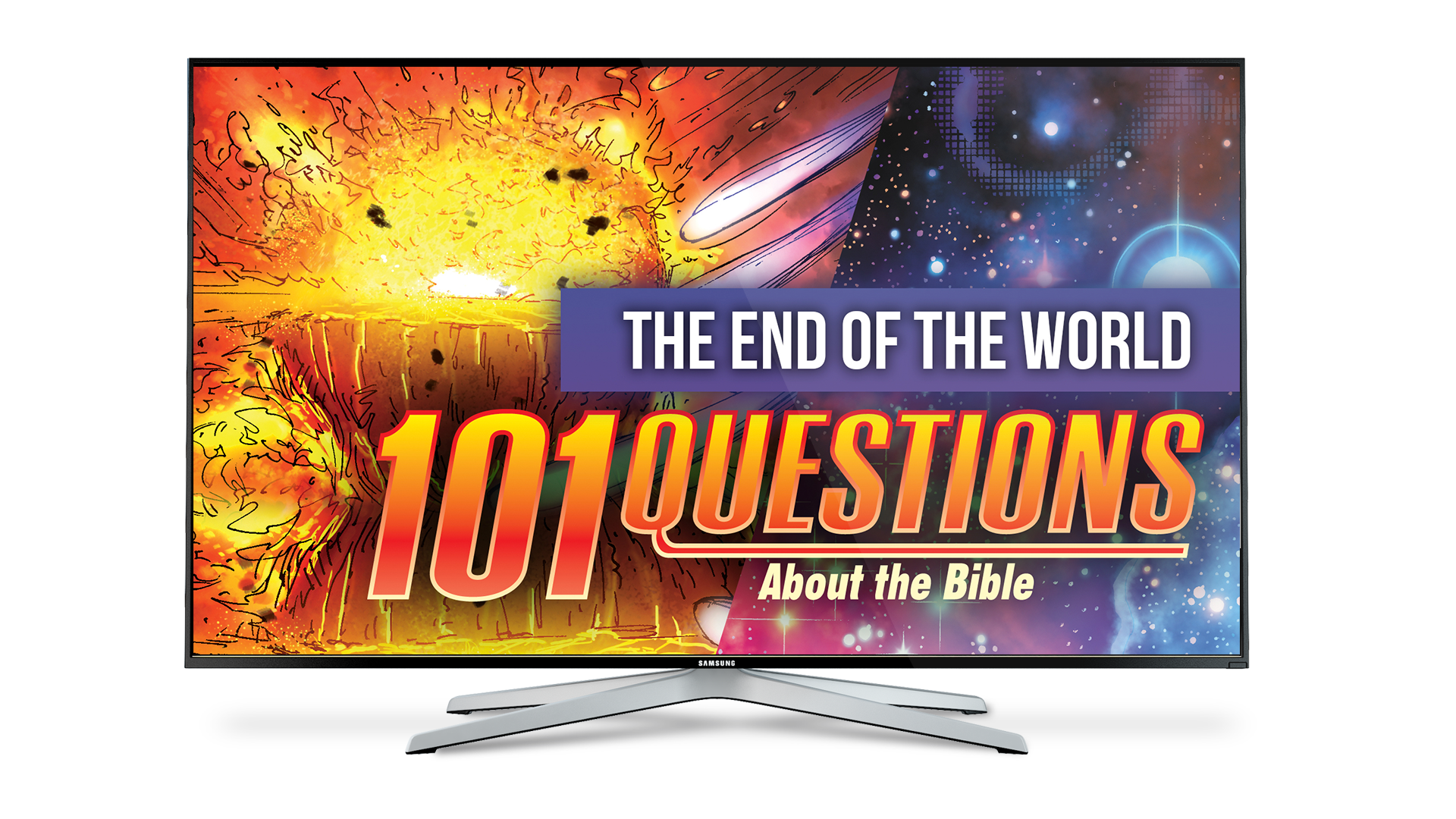 101 Questions #18: What does the Bible say about the end of the world? - Kingstone Comics