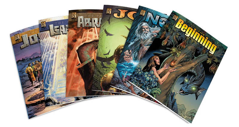 Old Testament Comics Pack 1