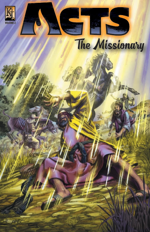 Acts 2: The Missionary - Kingstone Comics