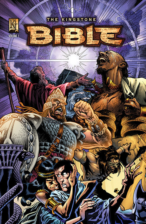 Graphic Novel of the Bible Volume 1
