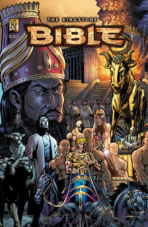 Kingstone Bible Vol. II Hardcover - Kingstone Comics