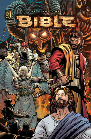 Kingstone  Bible Vol. III Hardcover - Kingstone Comics