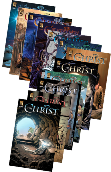 The Christ 12-Volume Set - Kingstone Comics