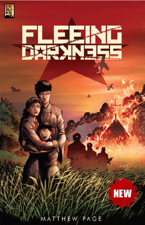 Fleeing Darkness Issue 1 - Kingstone Comics