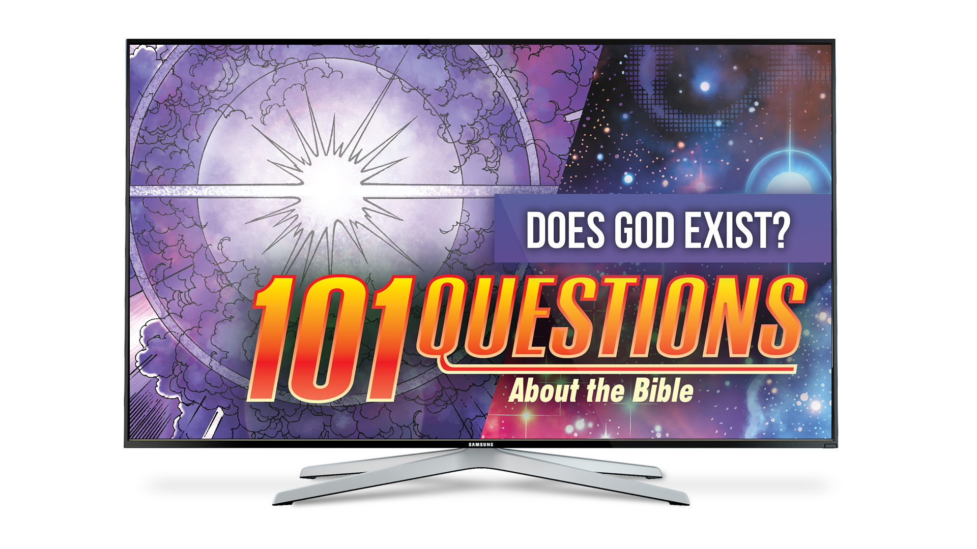 101 Questions: #16 How Do We Know God Exists? - Kingstone Comics