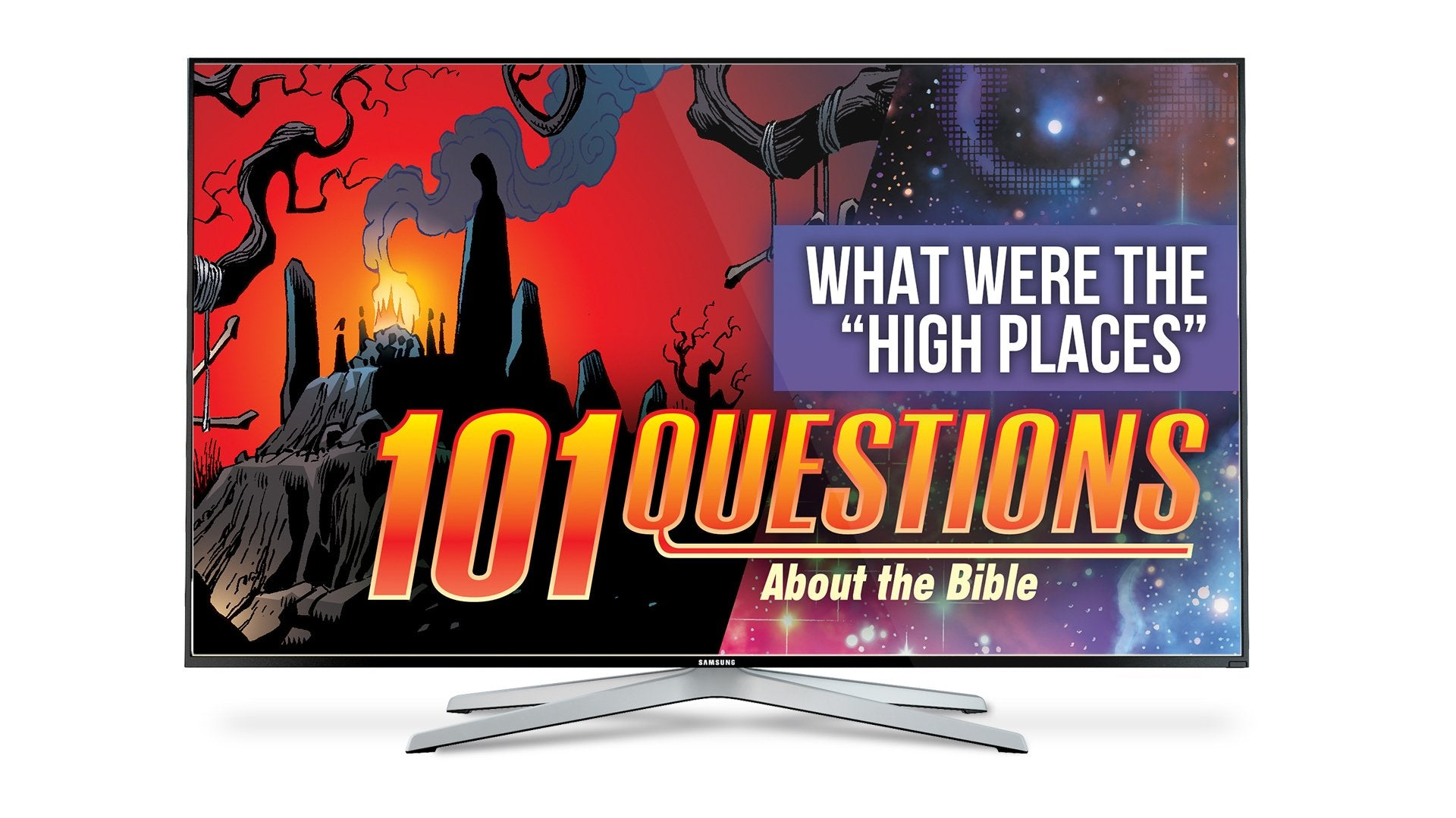 "101 Questions: #10 What Were the ""High Places""? - Kingstone Comics"