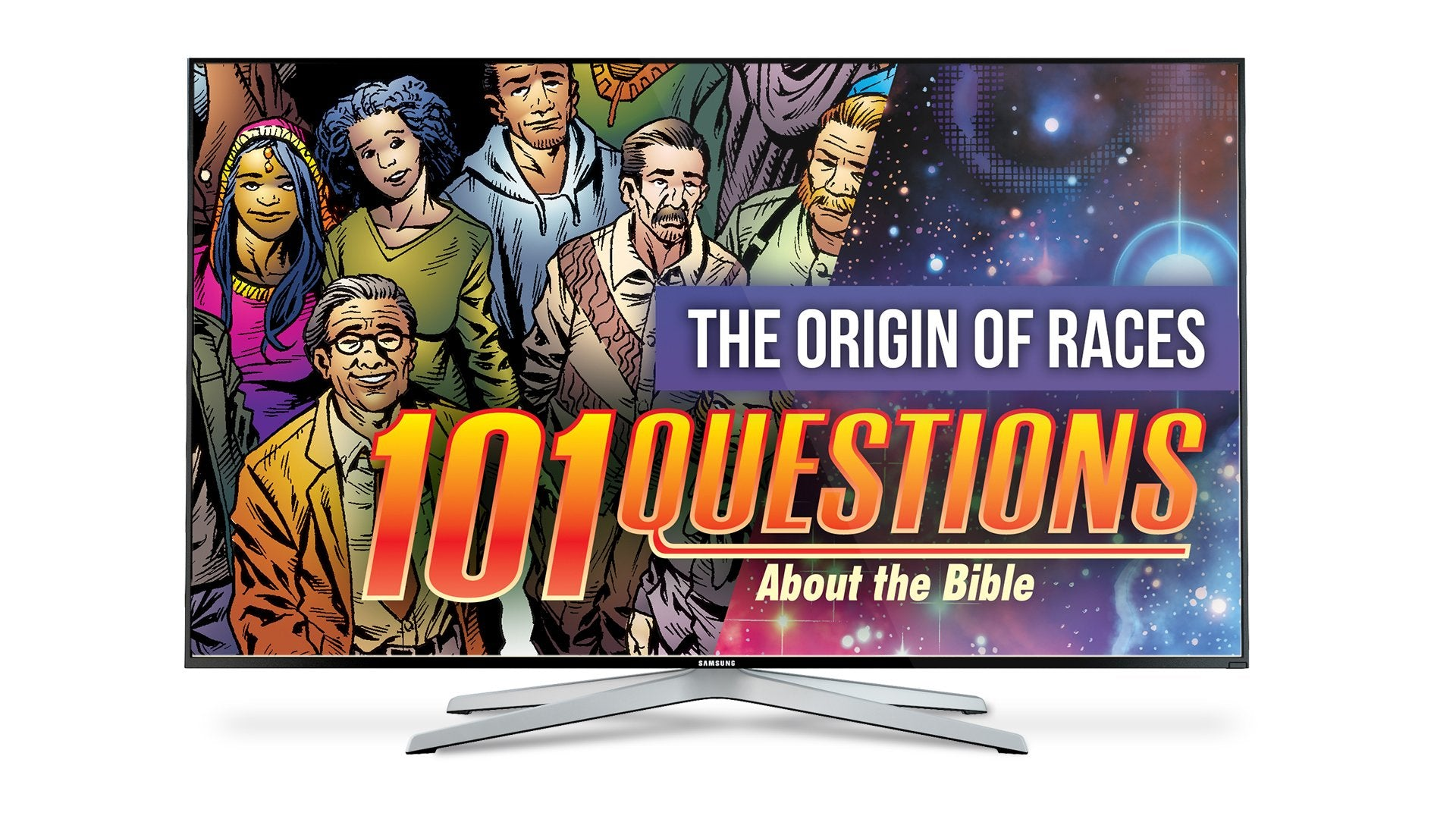 101 Questions: #1 Origin of the Races - Kingstone Comics