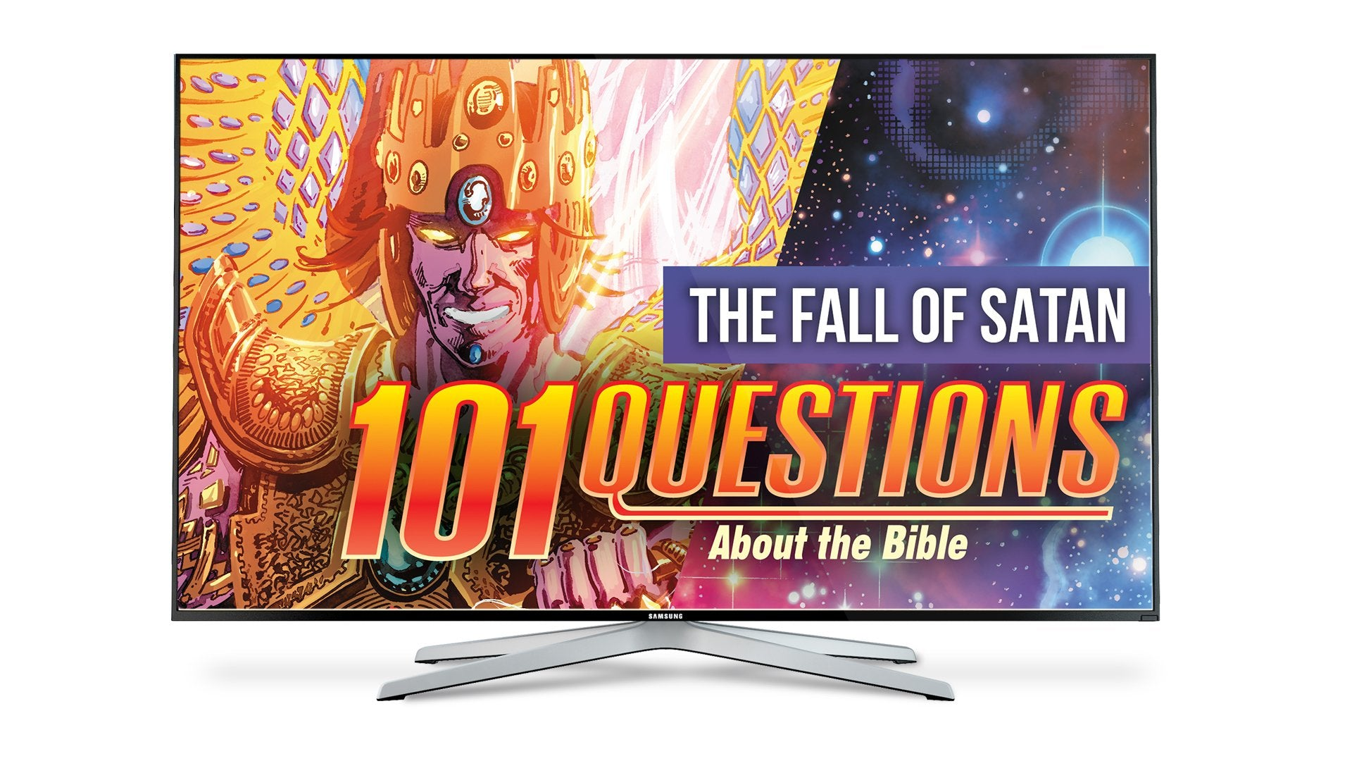 101 Questions: #4 Satan's Fall - Kingstone Comics