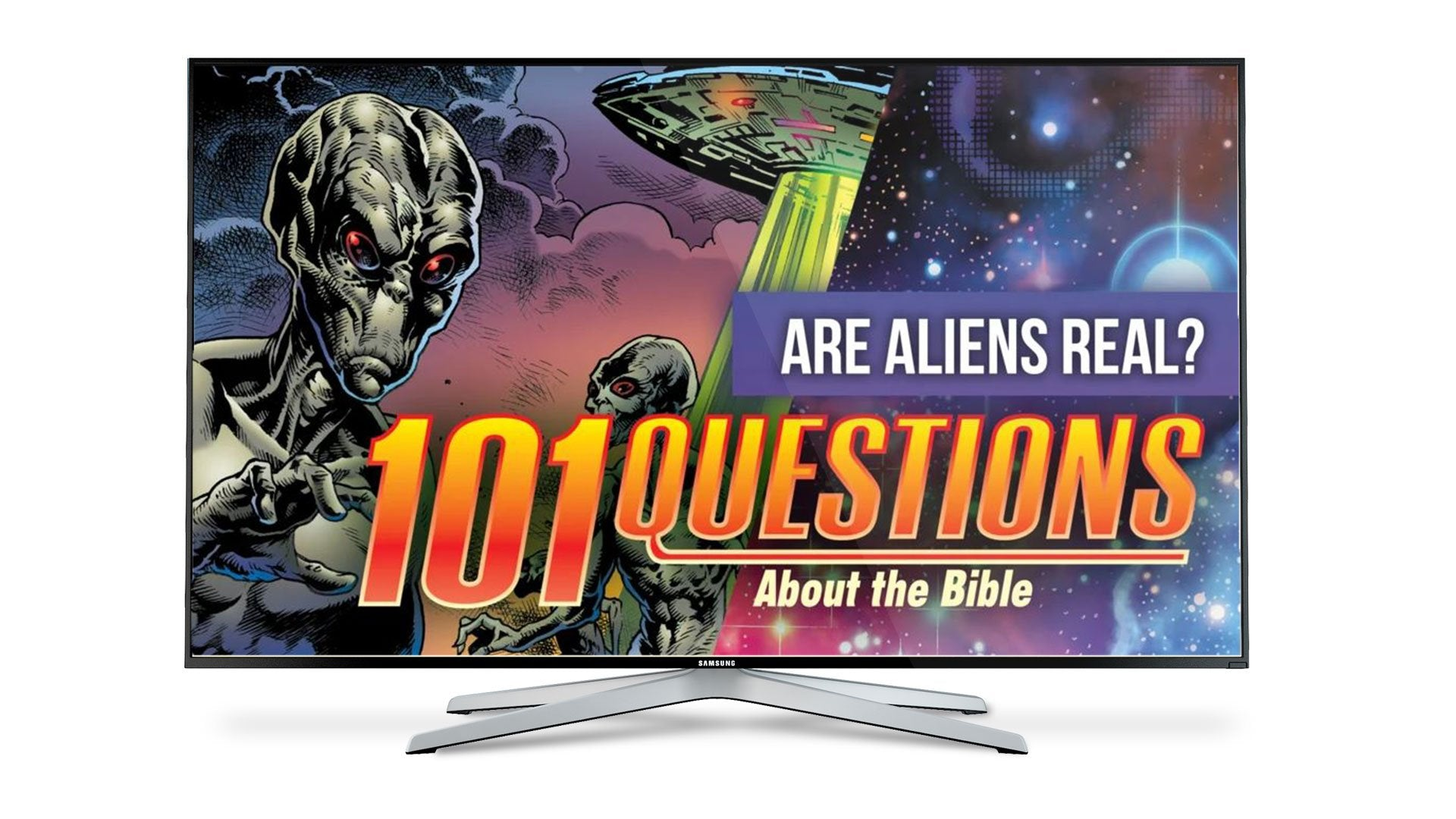 101 Questions: #7 What Does the Bible Say About Aliens? - Kingstone Comics