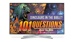 101 Questions: #13 What Does the Bible Say About Dinosaurs? - Kingstone Comics