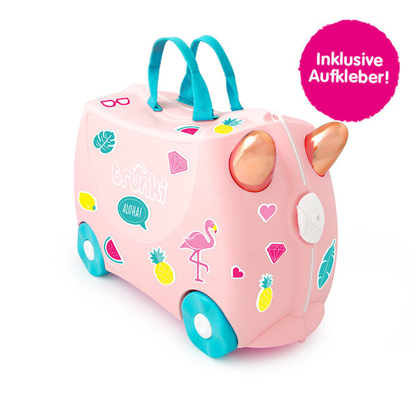 Flossi der Flamingo Trunki