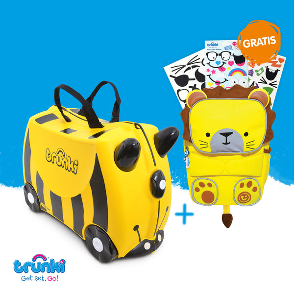 Bernard Trunki & GRATIS ToddlePak Rucksack & Sticker
