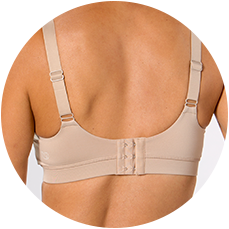 These closures offer flexibility and added comfort for fluctuating breast size