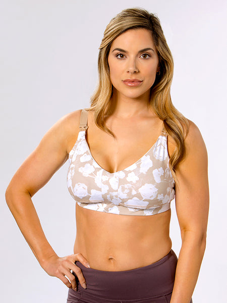 The best crossover pumping and nursing bra in The Janie
