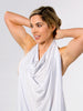 Ollie Gray The Anywhere breastfeeding bra in Nude that comes with a privacy cloth for breastfeeding moms