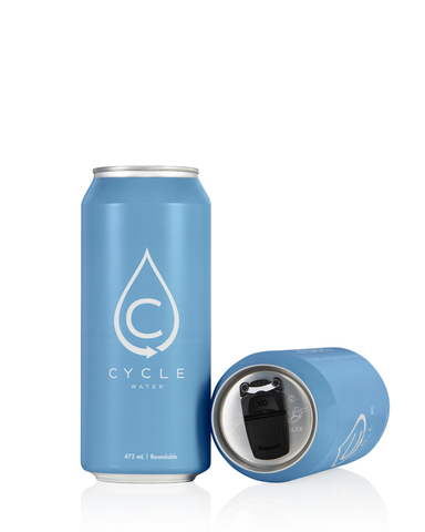 Cyclewater natural spring water
