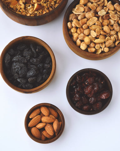 Organic nuts and seeds