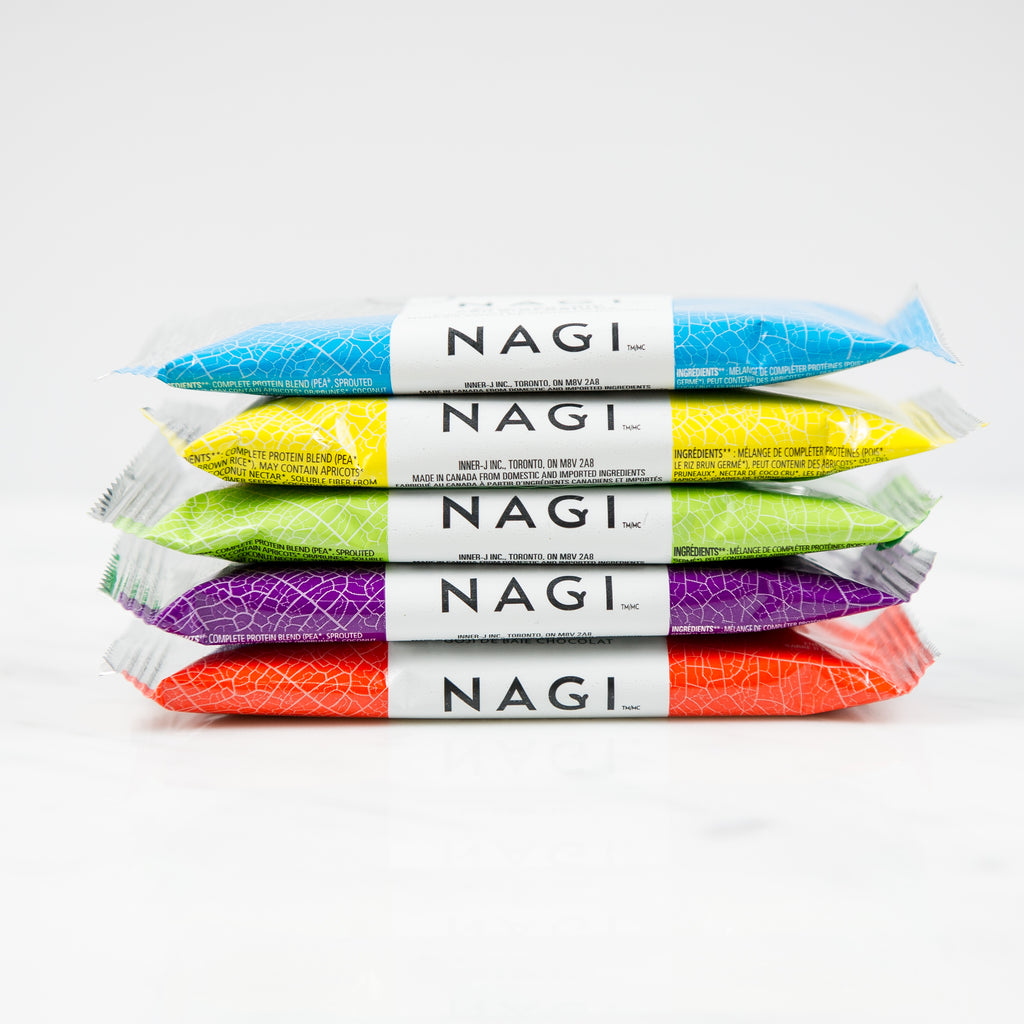 Nagi's $19 Organic Protein Bar Sample Pack
