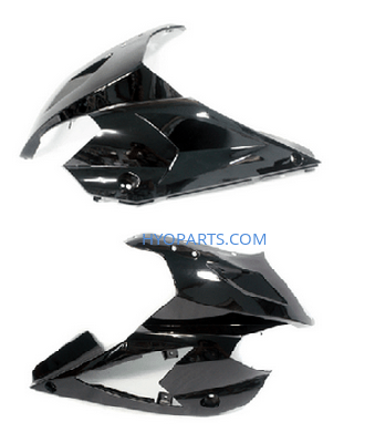 94411HP92020BK 94421HP92020BK Hyosung Upper Fairing Black