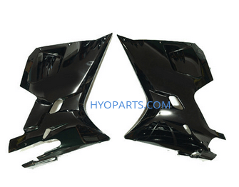 94433HP94200BK 94432HP94020BK Hyosung GT125R GT250R GT650R Black Lower Fairings Fairing 1 Pair