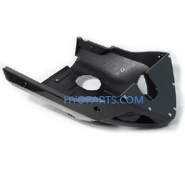 94409SB93000BK Hyosung GT650 Black Mud Fairing belly Pan Includes All Mounting Hardware and Manual to Install Comet