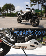 Hyosung Mud Cowling Fairing Belly Pan Naked Model White GT250