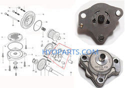 Hyosung Genuine Oil pump Assembly GT250 GT250R GV250