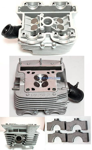11110SJ8201HPA Hyosung GV250 GT250 Cylinder Head Assy Hyosung Carby Models