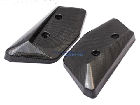 Hyosung GD250N Radiator Covers Carbon 94471HC9100CCL 94471HC8100CCL 94472HC8100CCL