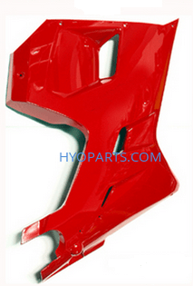 Hyosung Red Lower Right Fairing GT125R GT250R GT650R