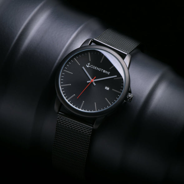 Minimalist Black watch - CGENSTONE