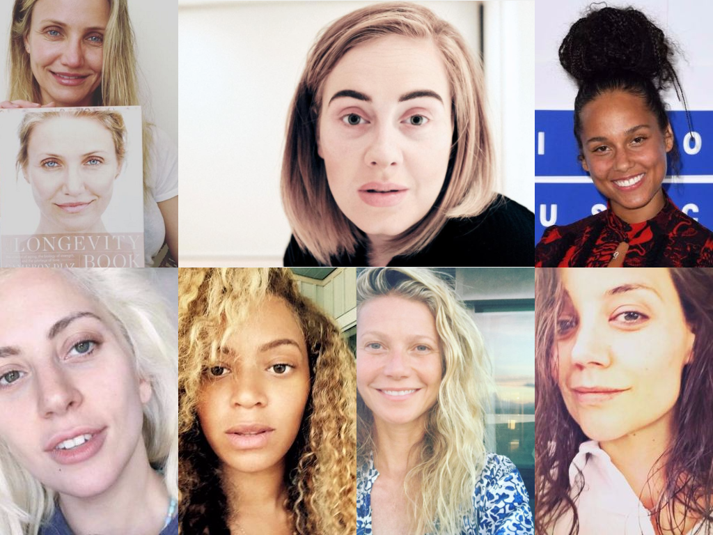 13 Times Celebs Rocked the #NoMakeup Look