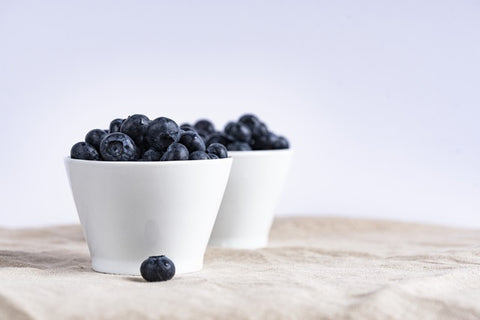 blueberries for skin