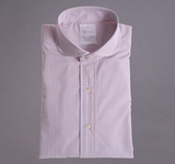 Mulit-Color Box Check Dress Shirt