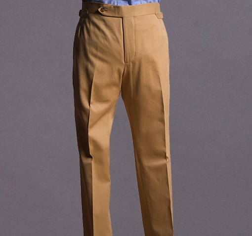 Cotton Drill Trouser, Khaki