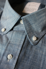 Textured Chambray Sport Shirt