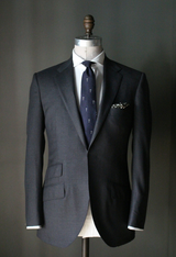 Grey Twill Weave Suit