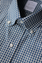 Chambray Check Sport Shirt