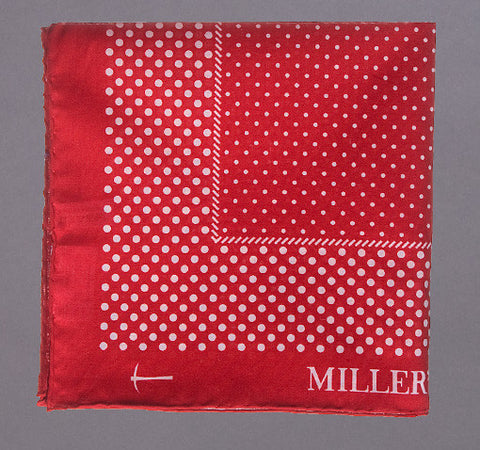Bandana Dot Pocketsquare