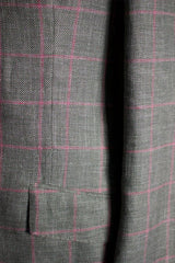 Green with Pink Windowpane Sportcoat