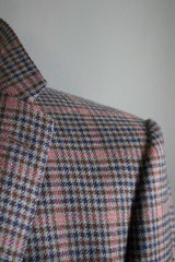 Guncheck Sportcoat in Green with Mauve Windowpane